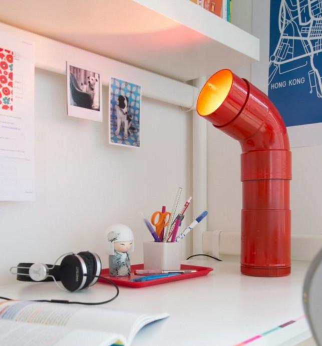 Diy une lampe de bureau au style industriel ammato - Lampe de bureau style industriel ...